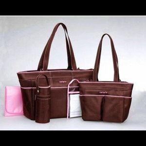 💕Carter's Brown Diaper Bag